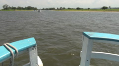 Stock Video Footage of Brazil Amazon near Santarem boat ride s