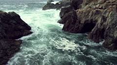 Rugged California Coastline, 4K - stock footage