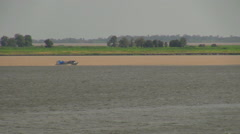 Brazil Santarem meeting of waters s Stock Footage