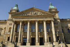 Stock Photo of supreme administrative court, leipzig, saxony, germany