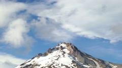 Mount Hood in Summer, 4K Stock Footage