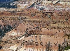 Stock Photo of view from point supreme, cedar breaks national monument, utah, usa