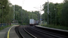 Railway Crossing Stock Footage