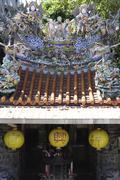 Tempel in taipei, taiwan Stock Photos