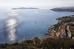 Stock Photo of gulf of mirabello (mirambello), katsikia near agios nikolaos, agios pandesisl