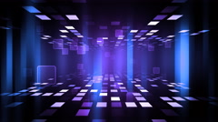 Night Club Dance Floor Stock Footage