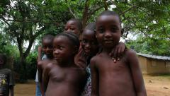 Children of Africa Stock Footage