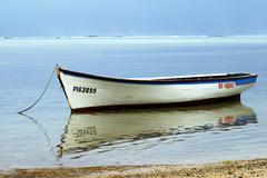 Fishing boat, mauritius Stock Photos