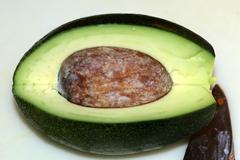 Avocado (persea americana) Stock Photos