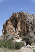 Agios antonios church in agiofarango gorge, southern crete, greece Stock Photos