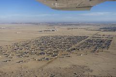Coast city swakopmund, namibia, africa Stock Photos