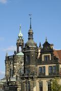 Stock Photo of residence castle dresden saxony germany