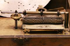 Stock Photo of nostalgia barrel organ