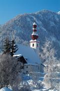 church of st. ulrich, st. ulrich am pillersee, tyrol, austria, europe - stock photo