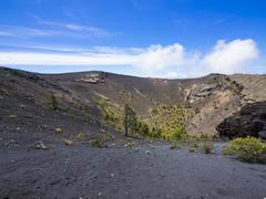 Stock Photo of Spain, Canary Islands, La Palma, Fuencaliente, Crater San Antonio, Canary Island