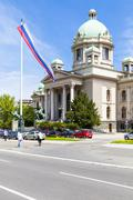 Serbia, Belgrade, parliament building - stock photo