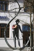 Karl valentin fountain, viktualienmarkt, munich, bavaria, germany Stock Photos