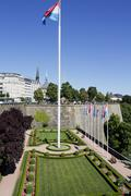 Stock Photo of Luxembourg, Place de la Constitution