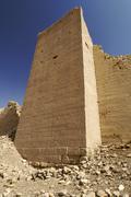 Ancient city wall of baraqish, yemen, arabia, arabian peninsula, middle east Stock Photos