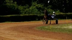 SAARBRÜCKEN - AUG 15, 2013: Horse racing in Germany. Part 7. Stock Footage