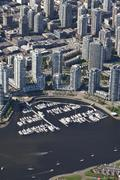 The west end, vancouver, british columbia, canada, north america Stock Photos