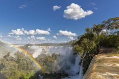 Stock Photo of South America, Argentina, Parana, Iguazu National Park, Iguazu Falls