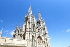 Spain, Burgos, Burgos Cathedral - stock photo