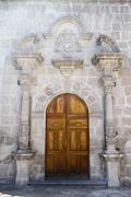 Stock Photo of South America, Peru, Arequipa, Iglesia San Augustin