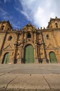 South America, Peru, Cusco, Cathedral Stock Photos