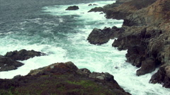 Rugged California Coastline - stock footage