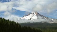 Mount Hood in Summer Stock Footage