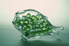 Glass fish Stock Photos