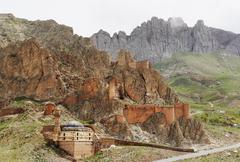 Stock Photo of Turkey, Eastern Anatolia, Anatolia, Agri province, Dogubeyazit, Mosque and city