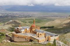 Stock Photo of Turkey, Eastern Anatolia, Anatolia, Agri province, Dogubeyazit, Ishak Pasha