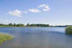 Stock Photo of pristine nature, masurian lakes, poland, europe