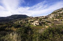 Spain, Balearic Islands, Mallorca, Valldemossa, S'Arxiduc Stock Photos