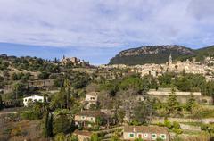 Spain, Balearic Islands, Mallorca, Valldemossa, S'Arxiduc - stock photo