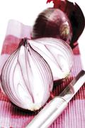 red onions - stock photo