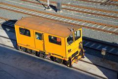 Trains, railroads and railway vehicle base Kuvituskuvat
