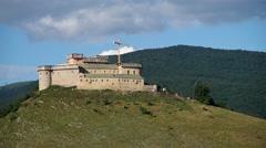 Castle of Krasna Horka Stock Footage