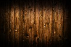 Brown wood planks as background Stock Photos