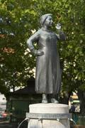 Liesl karlstadt, actress, monument in the viktualienmarkt market square, muni Stock Photos