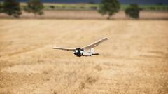 rc model aircraft - stock photo