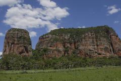 Stock Photo of cerro memby, eye-catching monolith, concepción, paraguay, south america