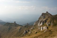 Ciucas Mountains, Romania - stock photo
