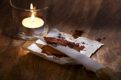 Cocoa rarity Stock Photos