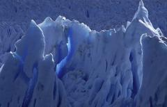 Stock Photo of glacial ice, perito moreno glacier, argentina / patagonia