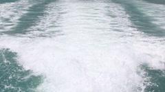 Blue ocean sea wave water background - stock footage