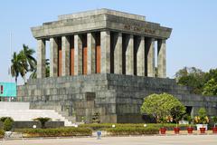 Ho-chi-minh mausoleum, hanoi, viet nam Kuvituskuvat
