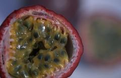 Passions Fruit (Passiflora edulis) Maracuja - stock photo